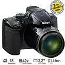 "Nikon Coolpix P520 18.1 MP 42X Optik Zoom 3.2"" LCD Ekran Dijital Fotoğraf Makinesi"