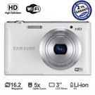 "Samsung ST150F 16.2 MP 5X Optik Zoom 3"" LCD Ekran Dijital Fotoğraf Makinesi"