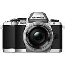 Olympus OMD E-M10 14-42mm EZ Pancake Aynasız SLR Dijital Fotograf Makinesi Gumus