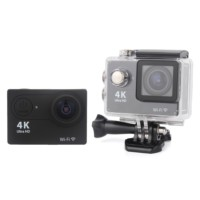 "Angel Eye KS-504s 4K 1080P Ultra HD 2.0""LCD Ekranlı Waterproof Wifi Aksiyon Kamera Siyah"