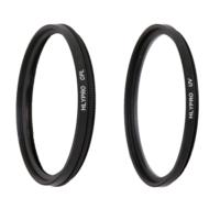 Canon 10-18mm Lens için HLYPRO UV Filtre + Polarize Filtre