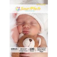 Smart Photo 10X15 Parlak (Glossy) 290 Gr/m² 100 Adet/1Paket Profesyonel Fotoğraf Kağıdı