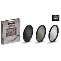 Nikon 18-140mm Lens için Koruyucu Uv + Cir Cpl Circular Polarize + Nd8 Uzun Pozlama Nd Filtre -Tianya-