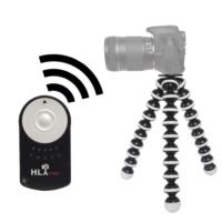 Canon 80D İçin HLYpro Gorillapod Tripod + RC-6 Uzaktan Kumanda