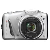 "Canon PowerShot SX150 IS 14.1MP 12X Optik Zoom 3.0"" LCD HD Çekim Dijital Fotoğraf Makinesi"