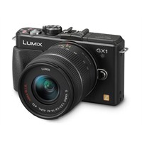 "Panasonic DMC-GX1K 14-42 Lens Kit 16 MP 3.0"" SLR Fotograf Makinesi"