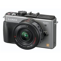 "Panasonic DMC-GX1X 14-42 Lens Kit 16 MP 3.0"" SLR Fotograf Makinesi"