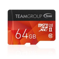 Team Xtreem 64GB microSD 3D Video 4K UHS Tam Uyumlu 250MB/Sn Class10 SDHC UHS-II U3 Flash Hafıza Kartı+SD Adaptör (TMMSD64GU3250)