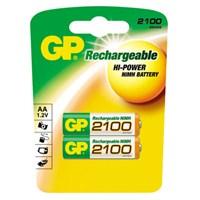 GP 2100 NI-MH Şarjlı Kalem Pil (AA) 210AAHC-UC2