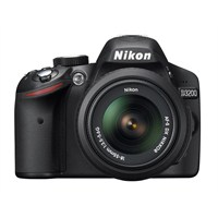 "Nikon D3200 18-55mm DX Kit 24 MP 3"" LCD Dijital SLR Fotoğraf Makinesi"
