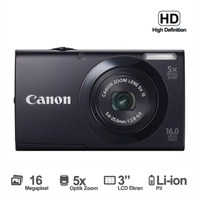 "Canon PowerShot A3400 16 MP 5x Optik Zoom 3"" LCD Dijital Fotoğraf Makinesi (HD Çekim)"