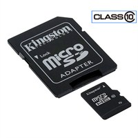 Kingston 8GB Class10 SDHC Micro SD Hafıza Kartı SDC10/8GB