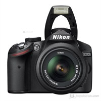 Nikon D3200 18-55mm Kit 24 MP Dijital SLR Fotoğraf Makinesi
