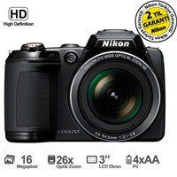 "Nikon Coolpix L810 16.1MP 26x Optik Zoom 3.0"" LCD HD Video Dijital Fotoğraf Makinesi"