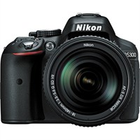 "Nikon D5300 + 18-140MM F3.5-5.6G VR KIT 24,2MP 3"" LCD Dijital SLR Fotoğraf Makinesi"
