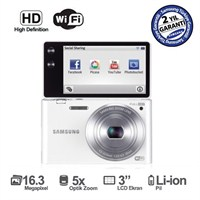 "Samsung MV900F 16,3 MP 5X Optik Zoom 3"" Amoled EkranDijital Fotoğraf Makinesi"