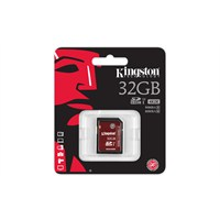Kingston 32GB SDHC Class 10 UHS-I U3 Hafıza Kartı SDA3/32GB