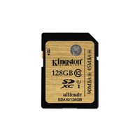 Kingston 128GB SDXC Class 10 UHS-I Ultimate Hafıza Kartı SDA10/128GB