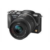 "Panasonic DMC-GF5K LUMIX G VARIO 14-42mm 12.1 MP 3.0"" LCD Ekran"