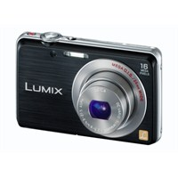 "Panasonic Lumix DMC-FS45 16MP 5x Optik Zoom 3"" LCD Dijital Fotoğraf Makinesi (HD Çekim)"