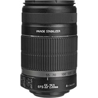 Canon EF-S 55-250MM F4-5.6 IS II Objektif