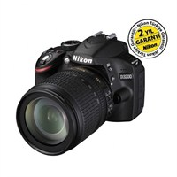 Nikon D3200 18-105mm VR Kit 24 MP Dijital SLR Fotoğraf Makinesi