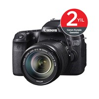 "Canon Eos 70D 18-135 IS STM 20,2 MP 3"" LCD Ekran SLR Dijital Fotoğraf Makinesi ( Dokunmatik Ekran )"