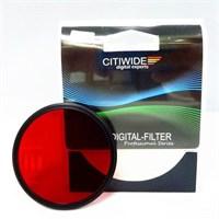 Citiwide 62Mm Full Kırmızı Filtre