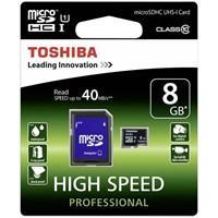 Toshiba 8Gb Micro Sdhc Uhs-1 C10 40Mb/Sn