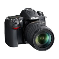 "Nikon D7000 18-105mm VR KIT 16.2 MP 3"" LCD Dijital SLR Fotoğraf Makinesi"