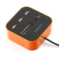 Dark UCR202 USB MicroSD/SD/MMC/M2/MS PRO DUO Kart Okuyucu (DK-AC-UCR202)