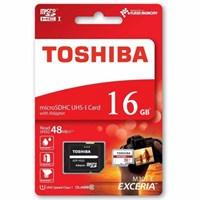 Toshiba 16 Gb Microsdhc Exceria 48Mb/Sn M301-Ea
