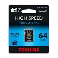 Toshiba 64GB Class 10 UHS1 SDXC Hafıza Kartı
