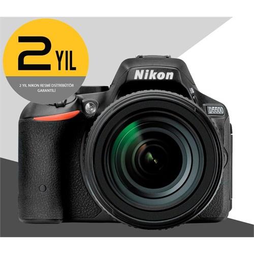 Nikon D5500+18-105Mm Vr Lens Kit Slr Dijital Fotoğraf Makinesi