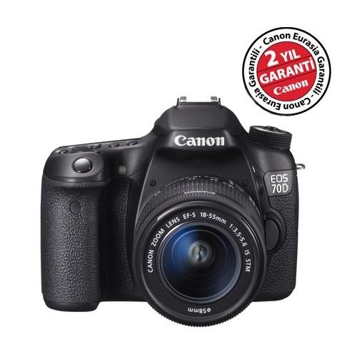 Canon Eos 70D 18-55 IS STM Kit DSLR Fotoğraf Makinesi