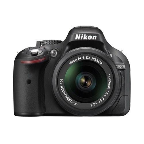 Nikon D5200 18-55 VR II KIT Profesyonel Fotoğraf Makinesi (İthalatçı Garantili)