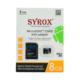 Syrox 8 Gb Micro Sd Card Hafıza Kartı Adaptörlü