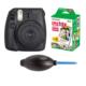 Fujifilm İnstax Mini 8 Siyah + 20'li Kağıt + Pompa