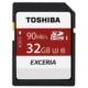 Toshiba 32GB SDHC UHS-1 C10 U3 90MB/sn (Exceria)