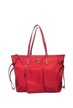 Barcelona Kadın Omuz Çantası Brc2037 Kırmızı 35*30*12