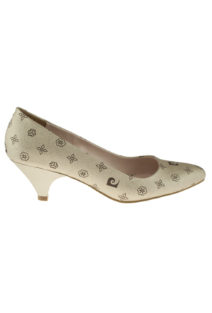 Pierre Cardin 45336 Mini Topuk Stiletto Altın Kadın Ayakkabı