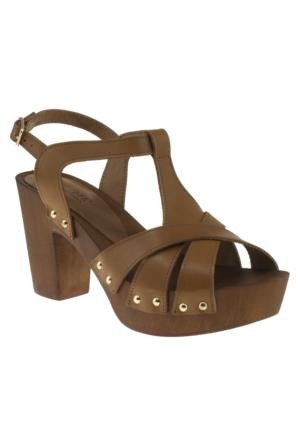 Greyder 6Y2ts55336 Zn Trendy Taba Kadın Sandalet