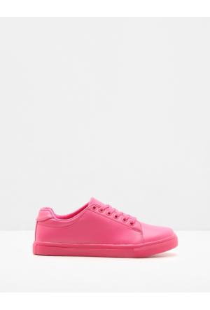 Ole Kadın Bağcıklı Ayakkabı Fuşya