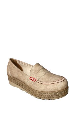 Park Moda Kum Kot Günlük Kalın Taban Bayan Ayakkabı-60