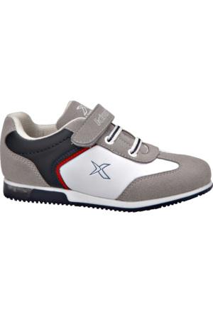 Kinetix 1238259 Beyaz Lacivert Kırmızı Erkek Çocuk Sneaker Ayakkabı