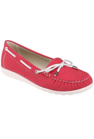 Art Bella C16003 Bordo Kadın Ayakkabı