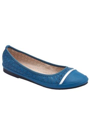 Miss F F16021 Mavi Kadın Babet