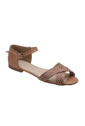 Polaris 61.308268.Z Pudra Kadın Sandalet