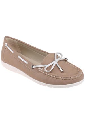 Art Bella C16003 Vizon Kadın Ayakkabı