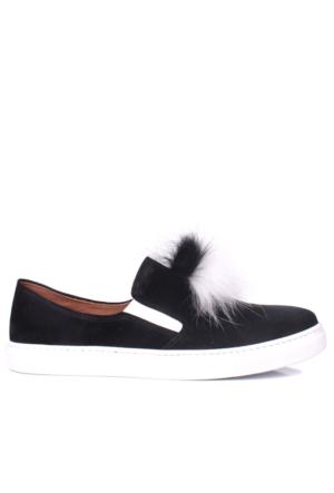Loggalin 126127 031 018 Kadın Siyah Ayakkabı